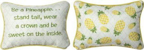 Be A Pineapple 12.5 x 8 Pillow