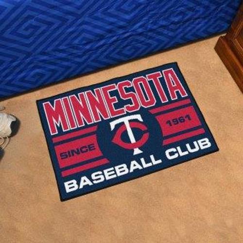 Minnesota Twins Baseball Club Starter Mat