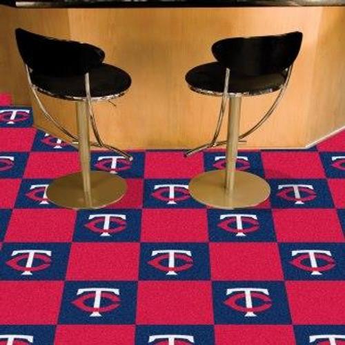 Minnesota Twins Team Carpet Tiles
