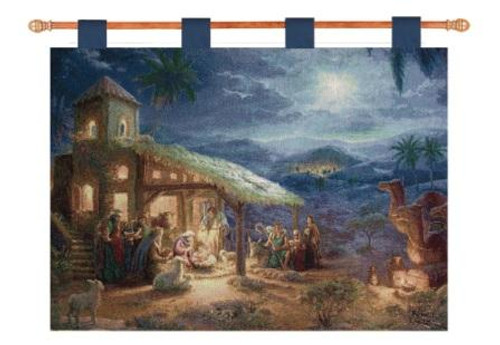 The Nativity 36 x 26 Wall Hanging