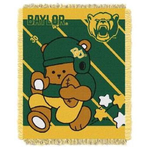 Baylor Bears Fullback Baby Jacquard Woven Throw