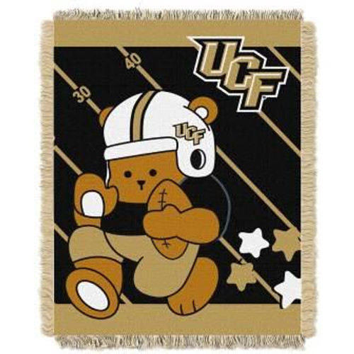 UCF Central Florida Knights Fullback Baby Woven Jacquard Throw