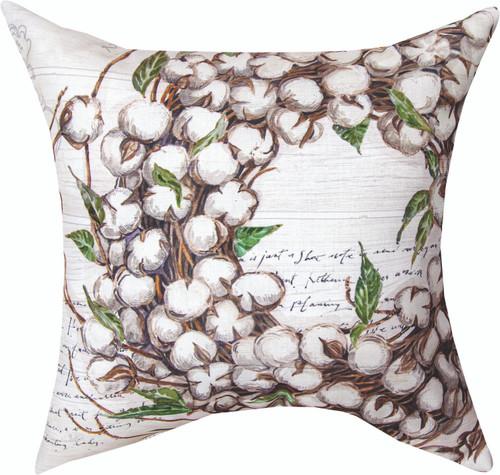 Farmhouse Cotton 18 x 18 Pillow
