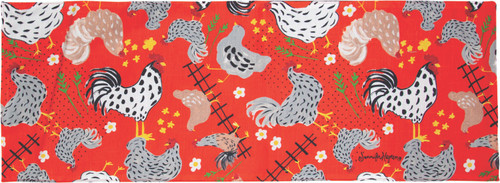 Rise And Shine Roosters 13 x 36 Runner