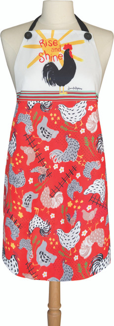 Rise And Shine Roosters 27 x 30 Apron