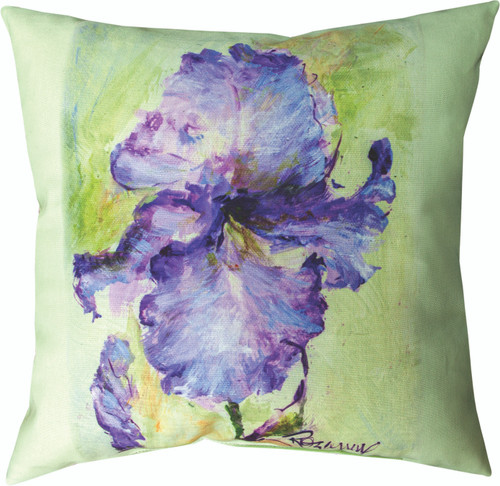 Iris 18 x 18 Pillow