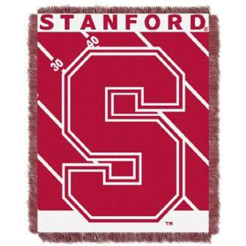 Stanford Cardinal Fullback Baby Woven Jacquard Throw