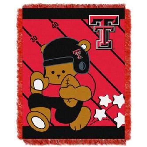 Texas Tech Red Raiders Fullback Baby Woven Jacquard Throw