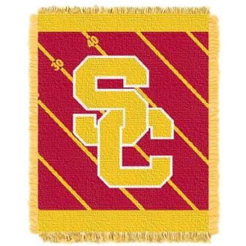 USC Trojans Fullback Baby Woven Jacquard Throw