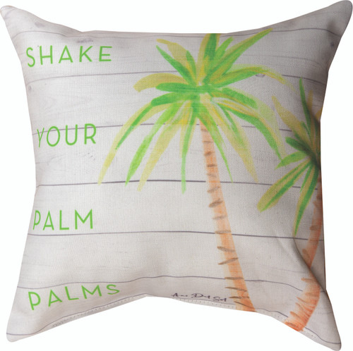 Shake Your Palm Palms 12 x 12 Pillow