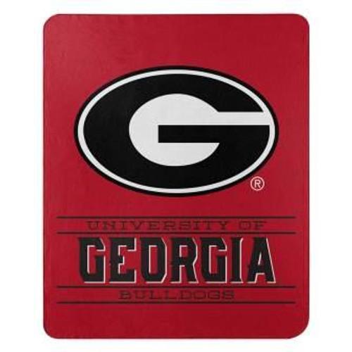 Georgia Bulldogs Control Fleece Throw