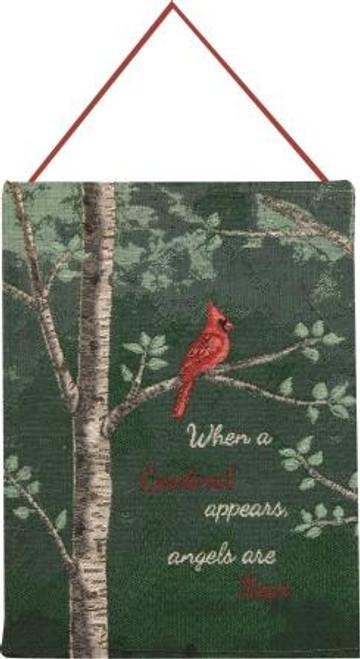 When A Cardinal Appears Bannerette