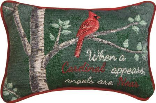 When A Cardinal Appears Pillow Set of 2