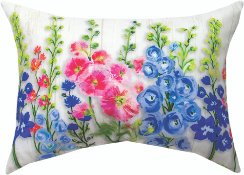 Cottage Garden 18 x 13 Climaweave Pillow