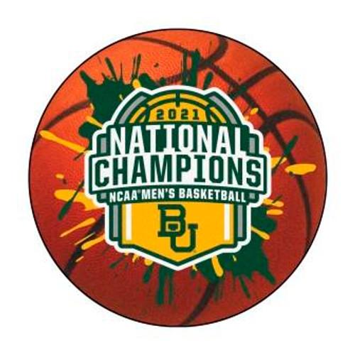 Baylor University 2021 Champions Basketball Mat