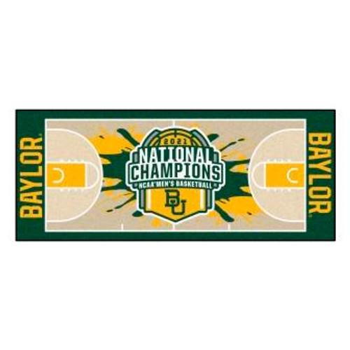 Baylor University 2021 Champions NCAA Basketball Runner