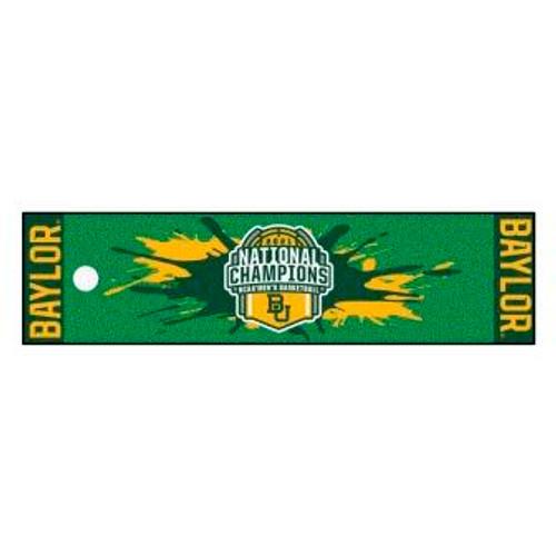 Baylor University 2021 Champions Putting Green Mat