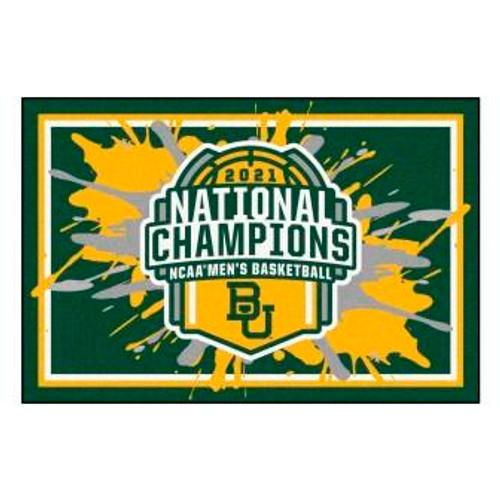 Baylor University 2021 Champions 3x5 Area Rug