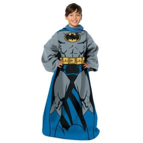 atman Being Batman Youth Comfy Throw Blanket with Sleeves