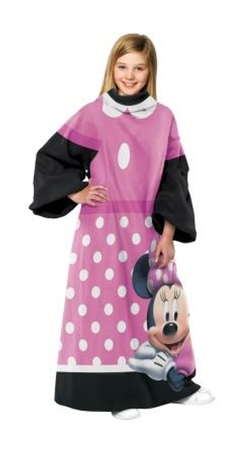 Minnie Mouse Dot Comfy Throw Blanket with Sleeves