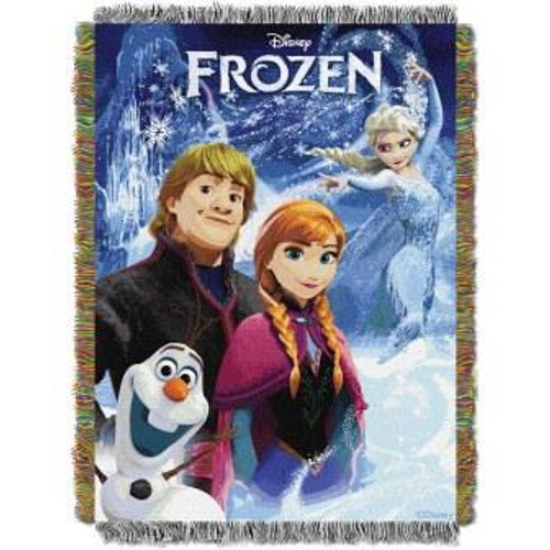Disney A Frozen Day Tapestry Throw