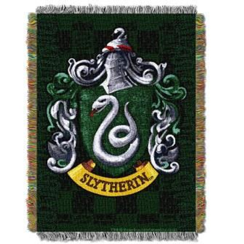 Harry Potter Slytherin Shield Tapestry Throw