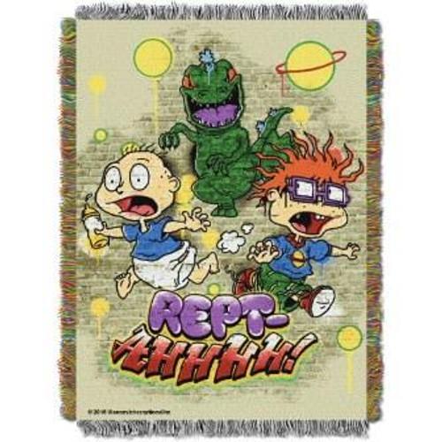 Nickelodeon Rewind Reptahhhh Tapestry Throw
