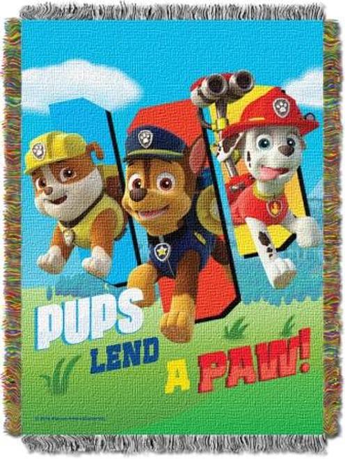Paw Patrol Lend A Paw Tapestry Throw