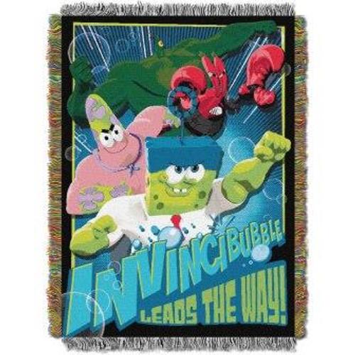 SpongeBob Invincibubble Tapestry Throw