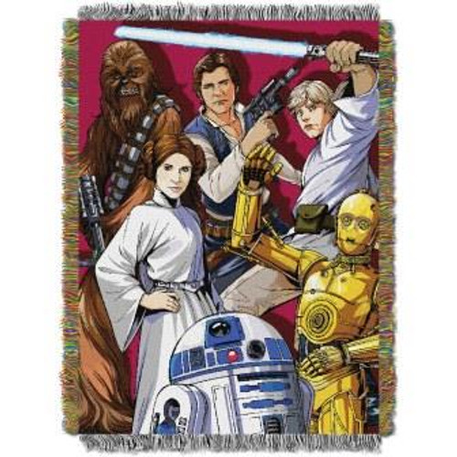 Star Wars Han Solo Two Pirates Tapestry Throw