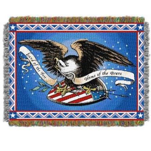 Memorial Day Tapestry Throw