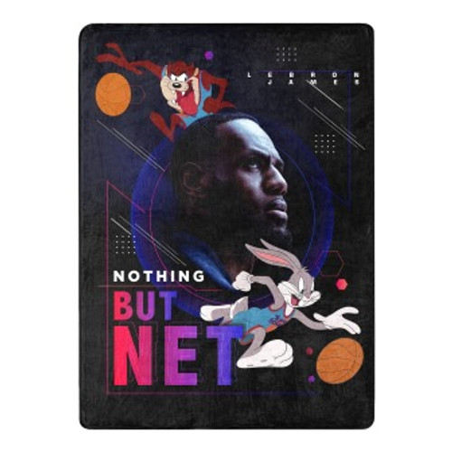 Space Jam 2 Nothing But Net Silk Touch Throw Blanket