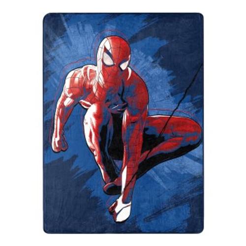 Spider Man Spidey Splash Silk Touch Throw Blanket