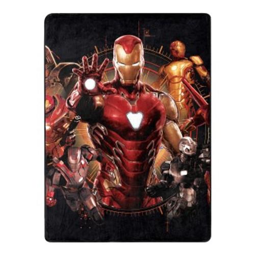 Avengers Iron Legacy Silk Touch Throw Blanket