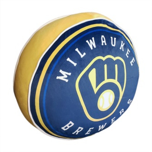 Milwaukee Brewers Travel To Go Cloud Pillow