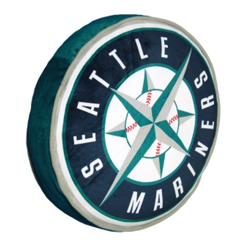 Seattle Mariners Travel To Go Cloud Pillow