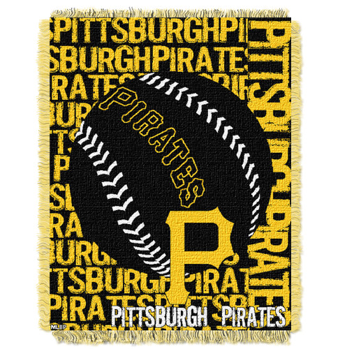 Pittsburgh Pirates Double Play Jacquard Throw