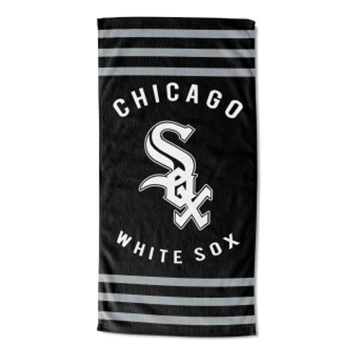 Chicago White Sox 30x60 Stripes Beach Towel