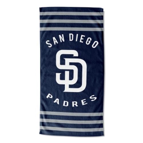 San Diego Padres 30x60 Stripes Beach Towel