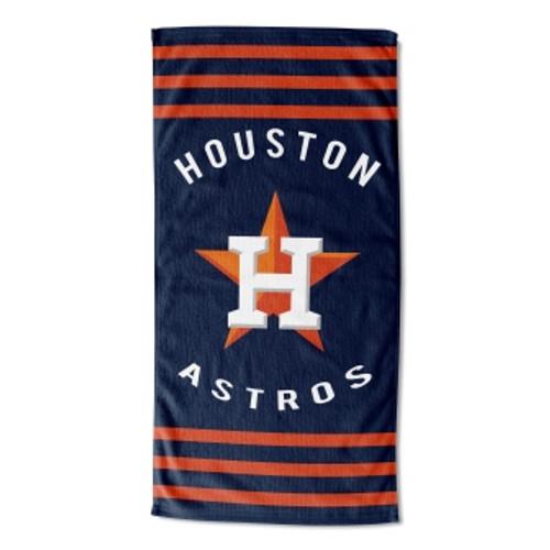 Houston Astros 30x60 Stripes Beach Towel