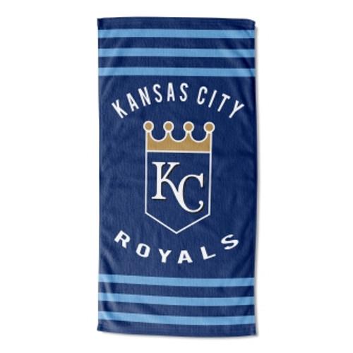 Kansas City Royals 30x60 Stripes Beach Towel