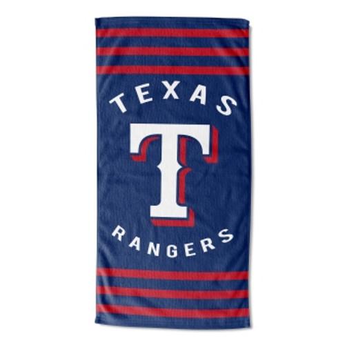 Texas Rangers 30x60 Stripes Beach Towel