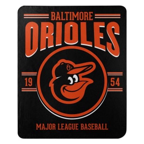Baltimore Orioles Official MLB Southpaw Fleece Throw Blanket