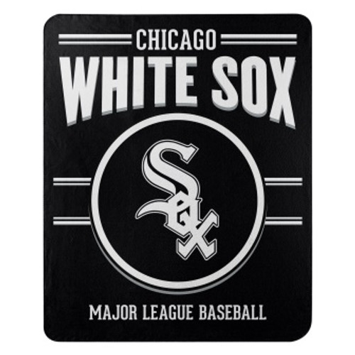 Chicago White Sox Official MLB Southpaw Fleece Throw Blanket