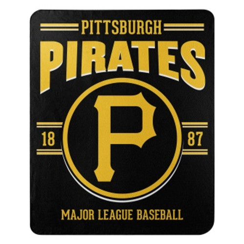 Pittsburgh Pirates Official MLB Southpaw Fleece Throw Blanket