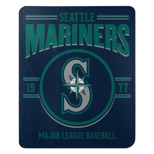 Seattle Mariners Official MLB Southpaw Fleece Throw Blanket
