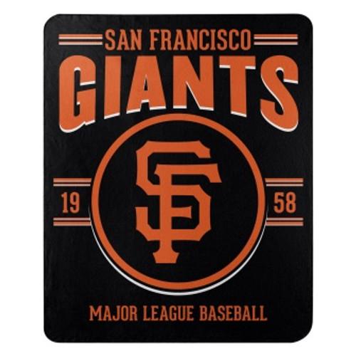 San Francisco Giants Official MLB Southpaw Fleece Throw Blanket