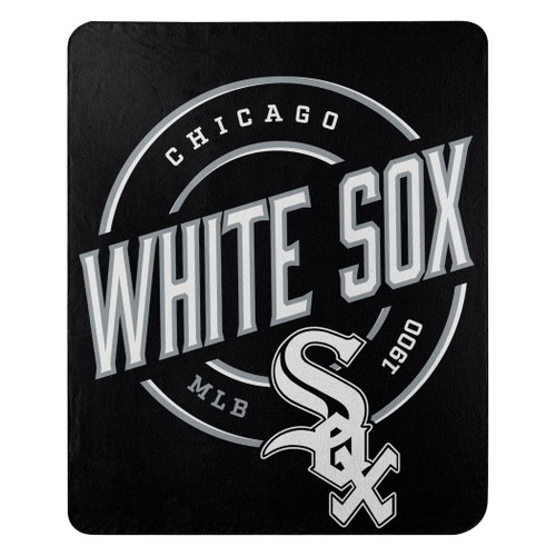 Chicago White Sox Official MLB Campaign Fleece Throw Blanket