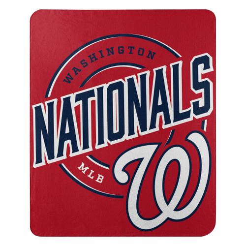 Washington Nationals Official MLB Campaign Fleece Throw Blanket