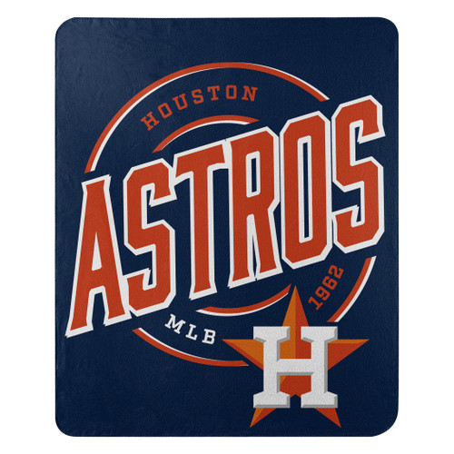 Houston Astros Official MLB Campaign Fleece Throw Blanket